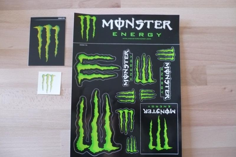 monster energy stickers at monster energy stickers in. Black Bedroom Furniture Sets. Home Design Ideas