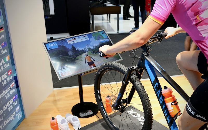 Zwift Goes Virtual Mountain Biking, Offers Steering