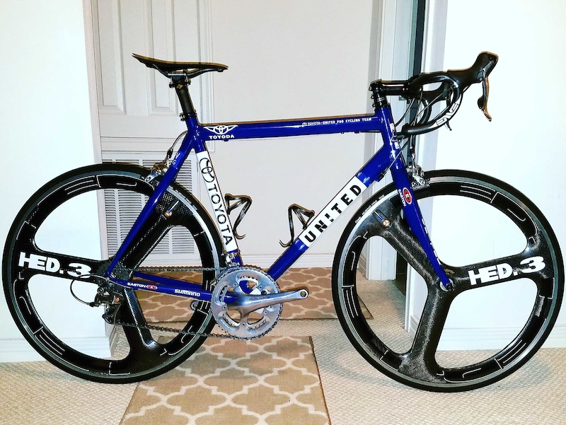 More recent shot of the Toyota bike