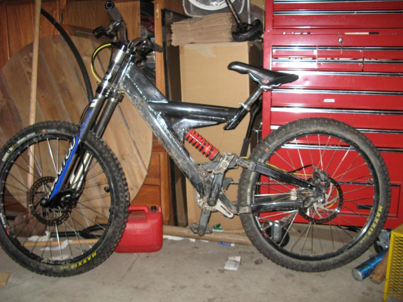 Old DH bike