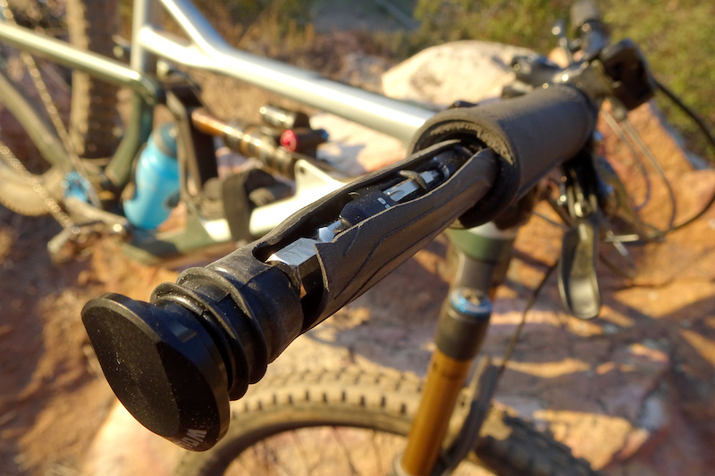 Wolf Tooth ENCASE System Bar Kit One with Handlebar Sleeves and Multi Tools