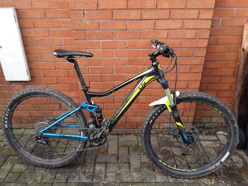 Rocky XC full suspension small womens bike For Sale