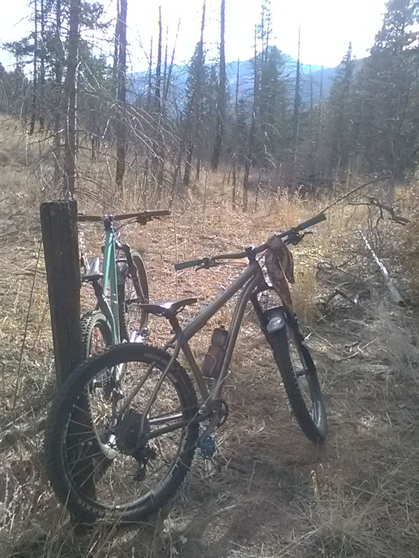 All day Back Country Burn area recognizance ride.