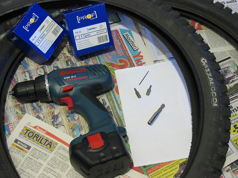 For Article: Tools.