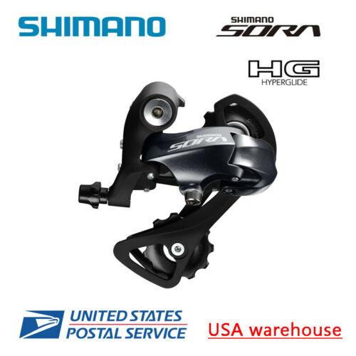 Shimano Sora RD-R3000-GS 9-Speed Medium Cage Rear Derailleur Black