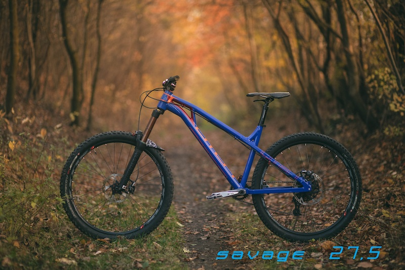 100 hand made custom frame OMEN SAVAGE 27 5 160mm fork . Enduro Trials bikes. www.omenracing.com