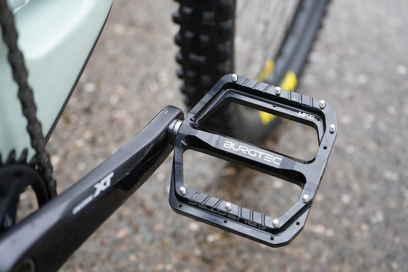 Kash Bronze Burgtec Penthouse Flat Pedals MK5 Steel Axles