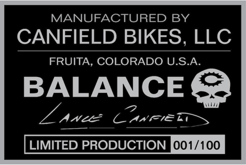 2020 Canfield Balance Limited Edition