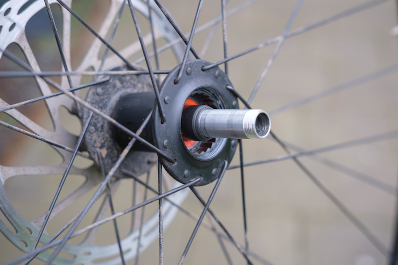 Rear Crank Brothers Synthesis Alloy E-MTB Bicycle Wheel