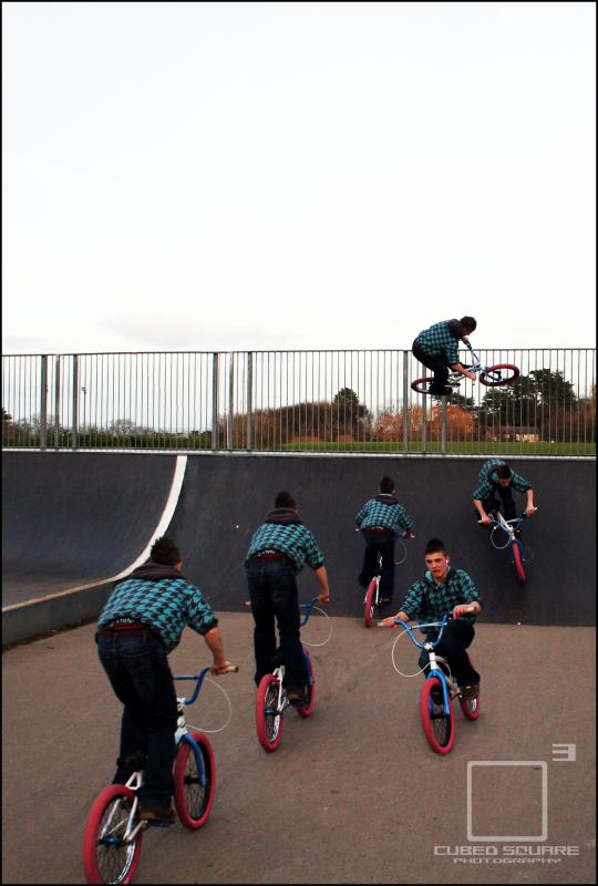 Sequence Picture of Ben getting Air Photo - Laurence CE