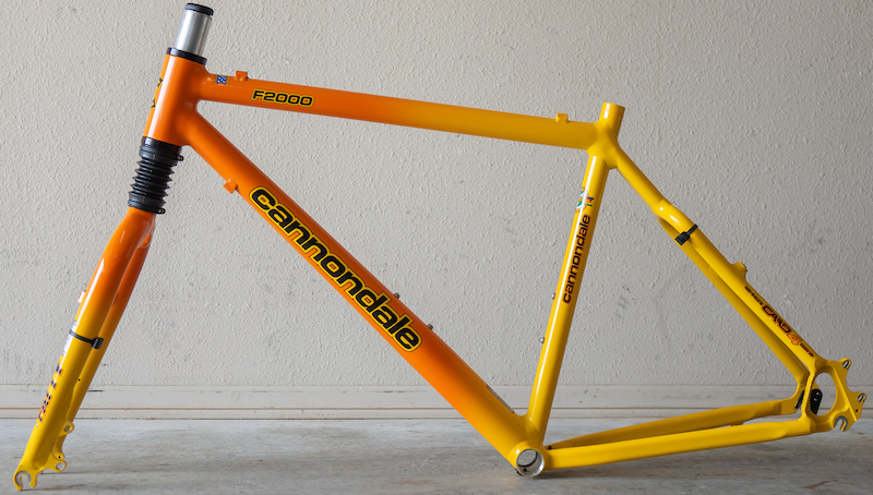 1999 Cannondale F2000