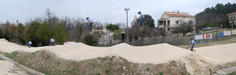 This was nuts! Tuffy was the first rider to try this.  He cleared it clean a couple of times too, search you tube for 'montelimar' to see the vid.