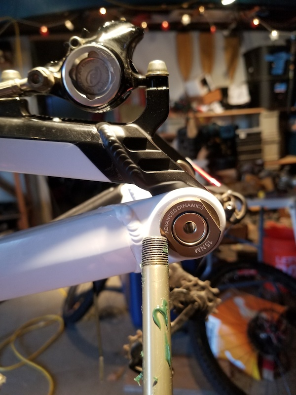 Quick release dropouts for an enduro bike that originally came with a through axle really Orbea