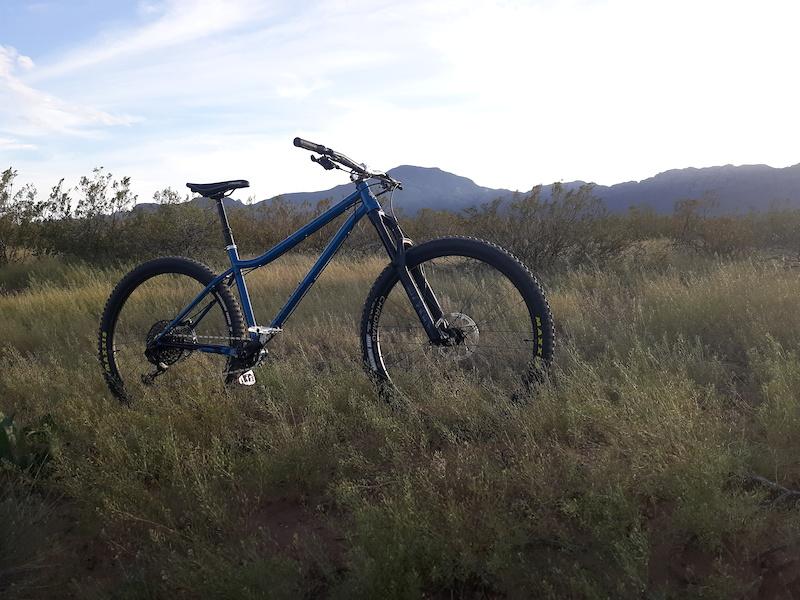 New Bike Day 2020 Chromag Rootdown Indigo Blue Large