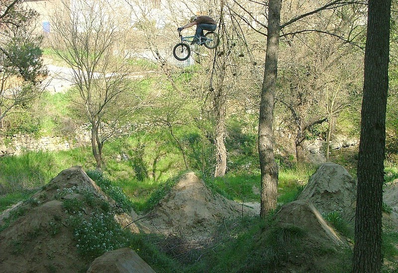 Backyard Bmx Jumps bib at jhonn back yard in mount vernon, new york, united states