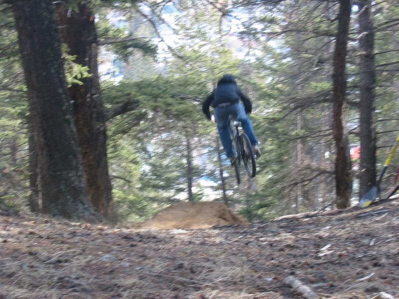 step down trail gap