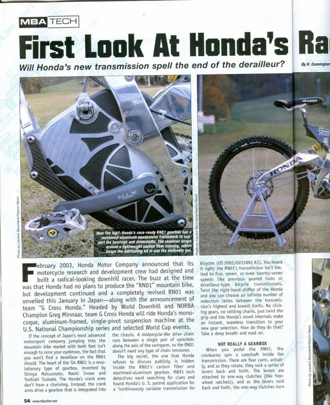 Honda GearBox