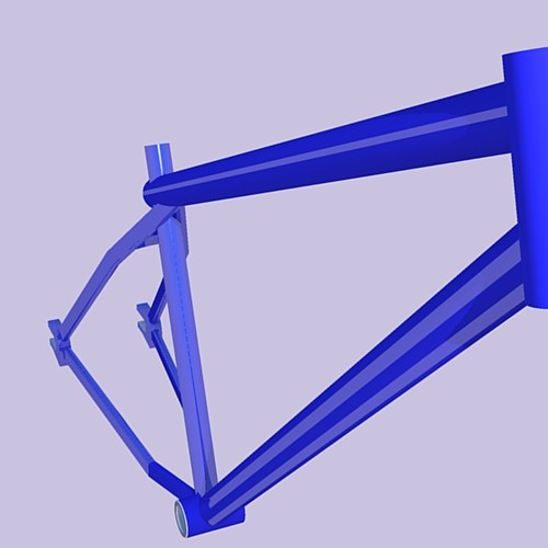 Frame i drew in Google SketchUp and Rendered in Podium