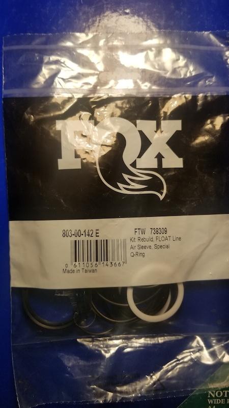 Fox rear shock -142 replacement seal kit