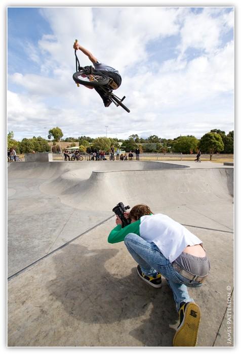 Boost over US Rider/Filmer Danimal