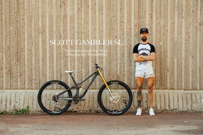 Scott Gambler world s lightest