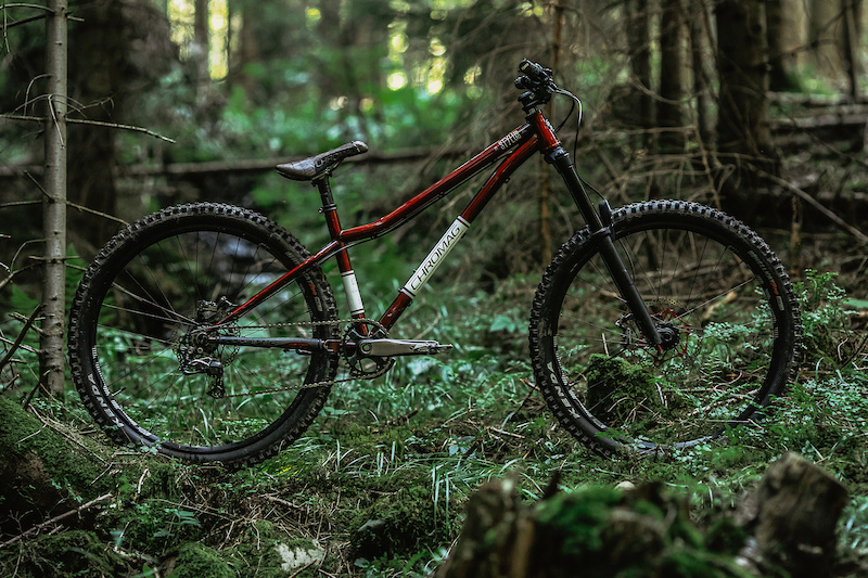 My hardtail for the season 2020 in fr version. Pic by BeHere.photo. 5