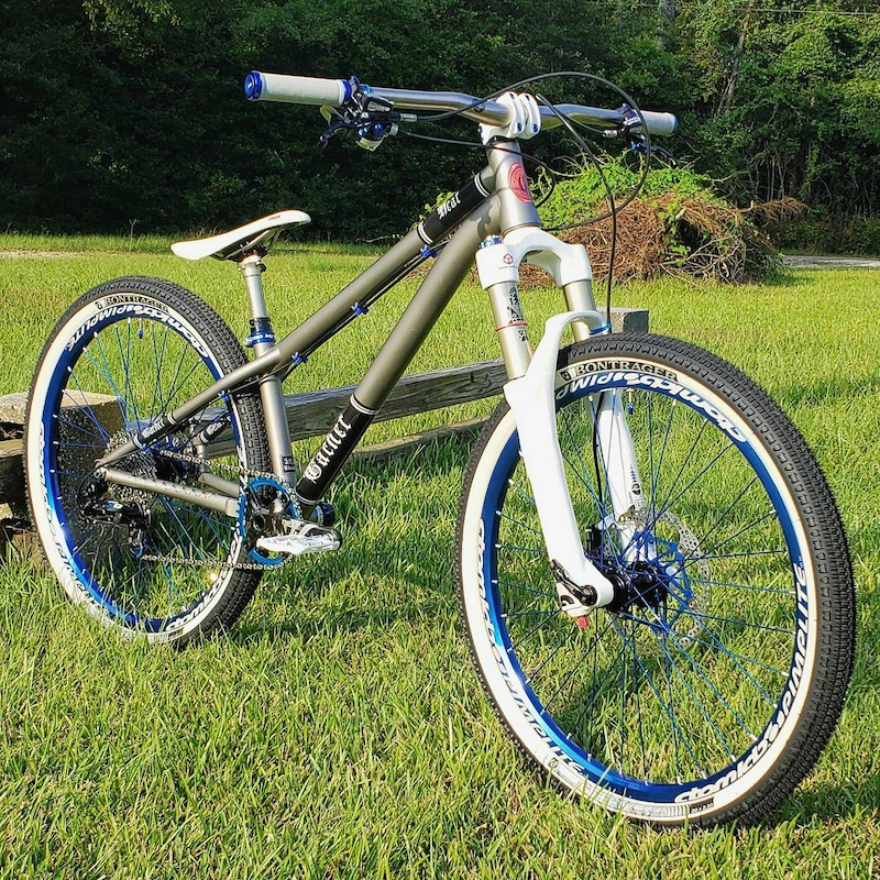 Cachet Heat 4X build. Some small remaining touches yet to come but here she is in all of her titanium glory