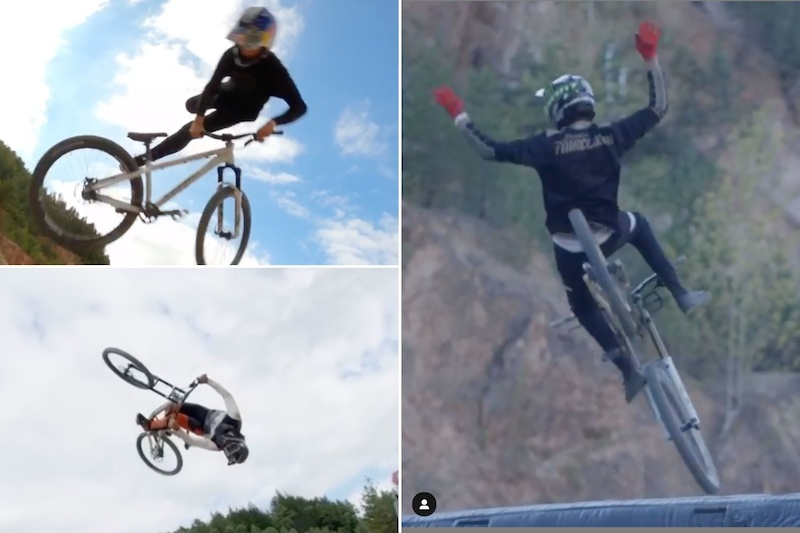Social Round Up: World's First Cashrolls, Drone Close Calls and Front Flip Fails - Audi Nines 2020 - Pinkbike
