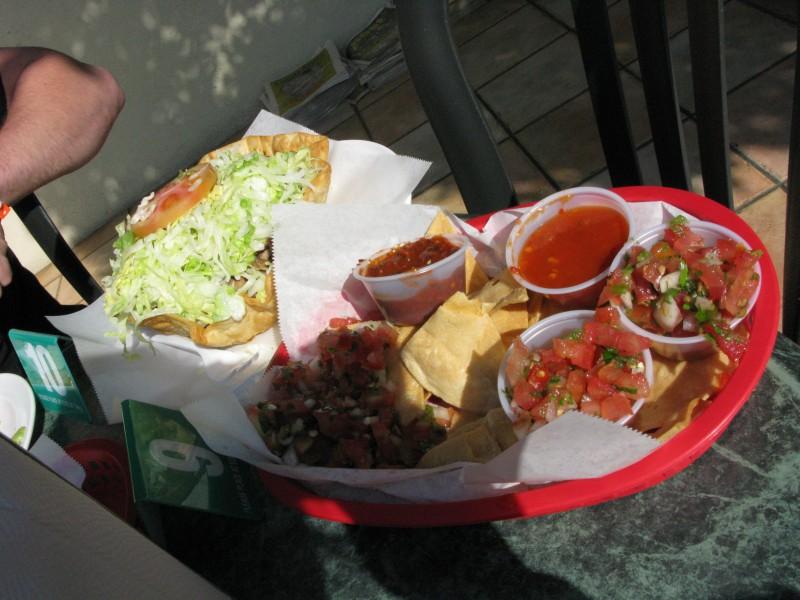 taco salad mmmmmm