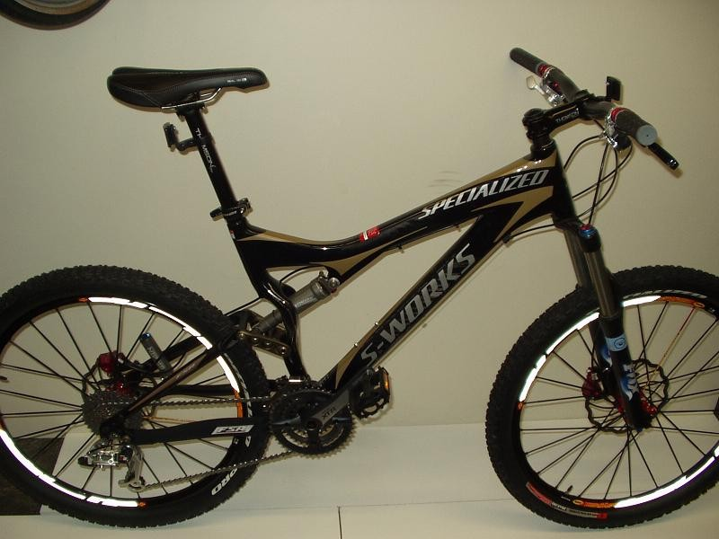4e174c7dd98 2007 Specialized Stumpjumper FSR S-Works Carbon Large For Sale
