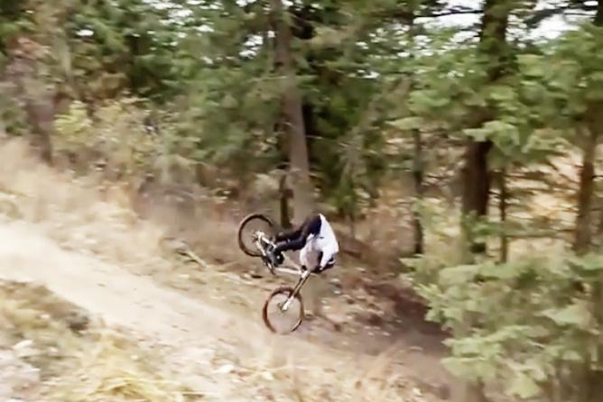 Video & Interview: Tom Van Steenbergen Posts Footage of his Recent Crash - Pinkbike