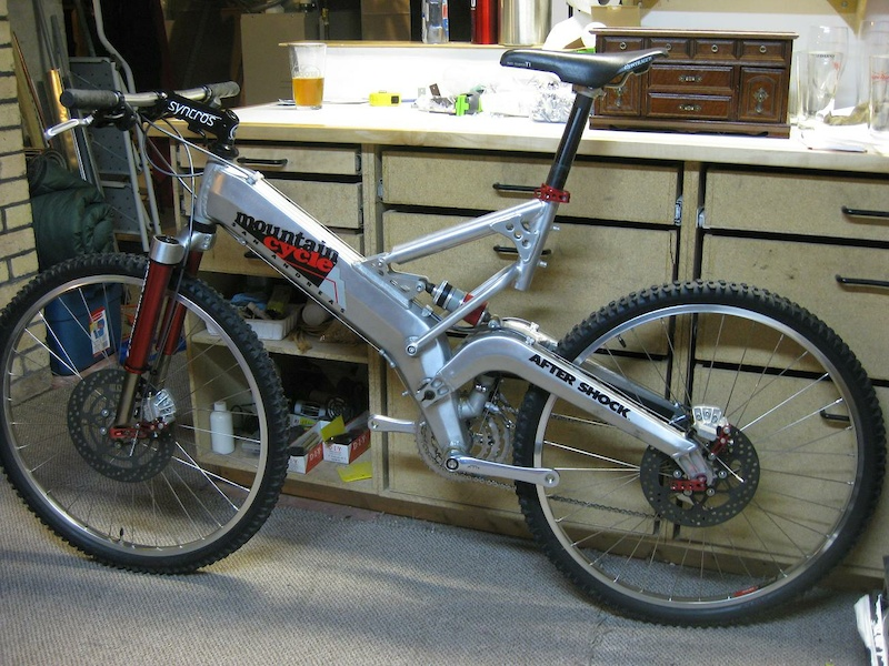 Mountain Cycle San Andreas 1992