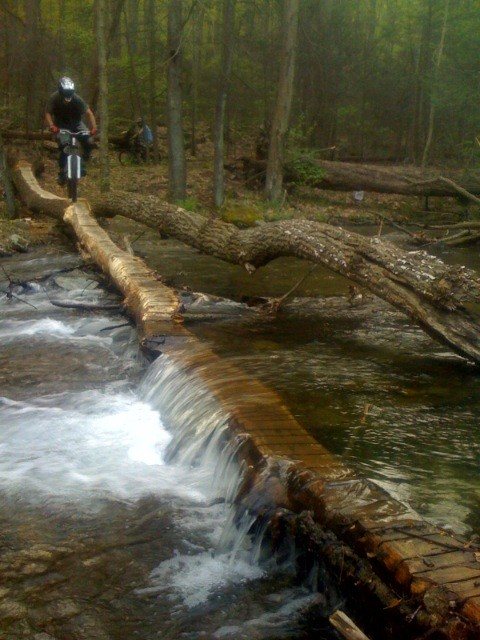 Sickkk Log ride through river