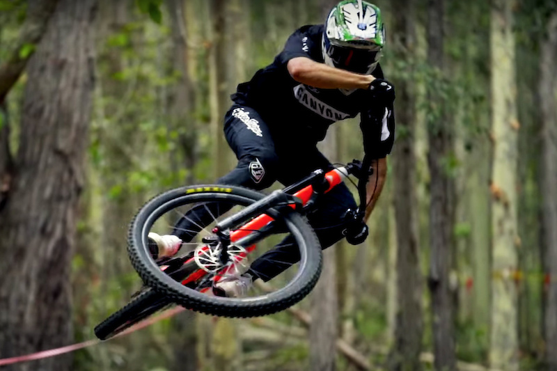 Video: Jack Moir's First Ride Since the Maribor World Cup on his Local Trails - Pinkbike