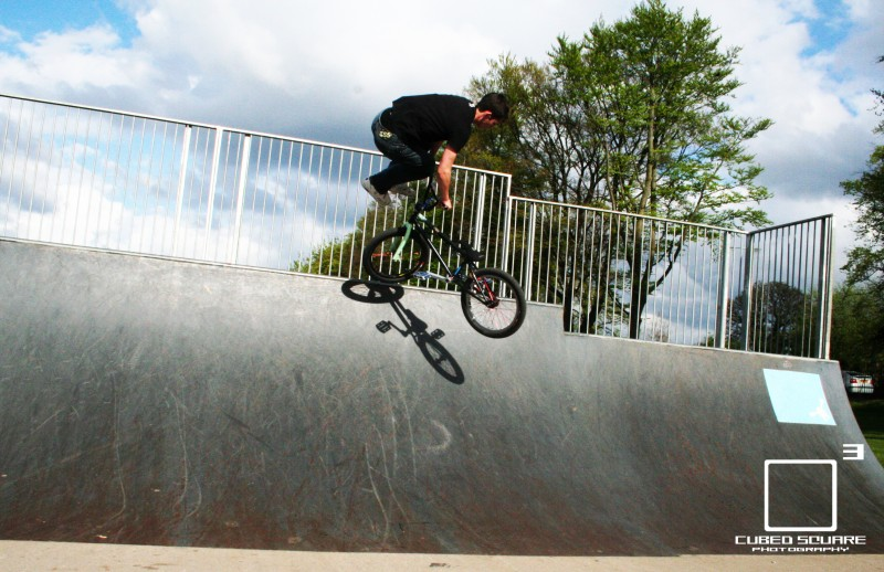 Tailwhip on Quater Cubed Square Photography Laurence CE