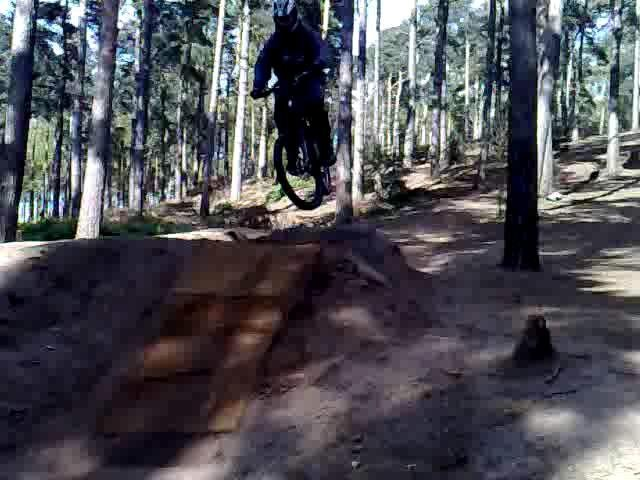 First time jumping on the dirt :)