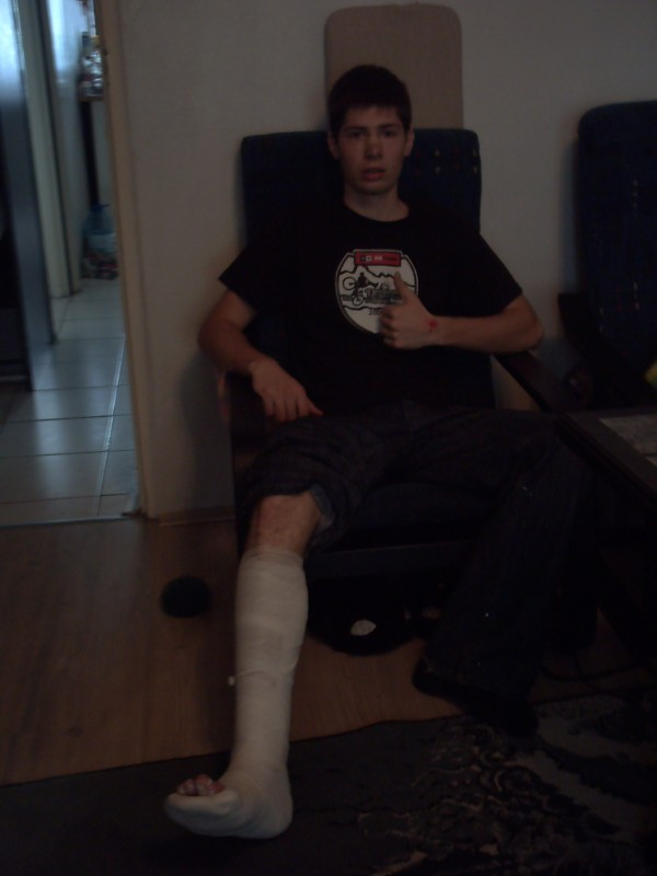 Twisted ankle. again.