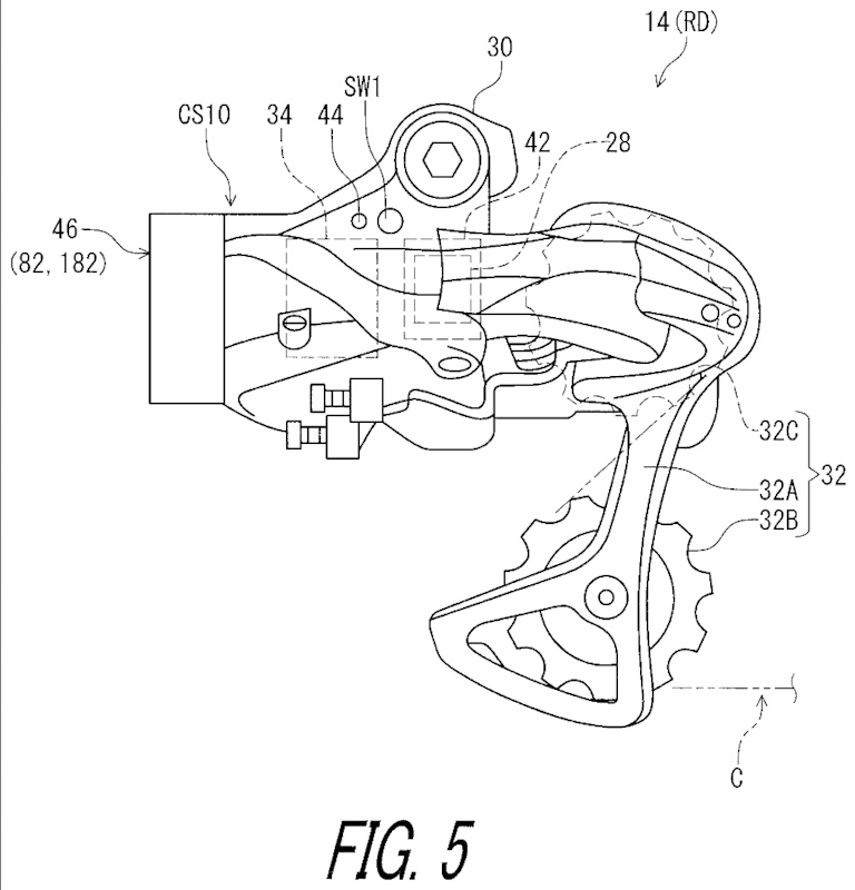 Shimano patent image