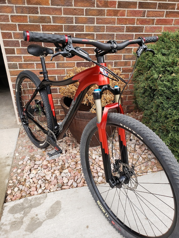 2011-12 Elllsworth Enlightenment Carbon 29er Custom Paint an decals . not finished have detail items Seat Rotors fox fork decals all coming