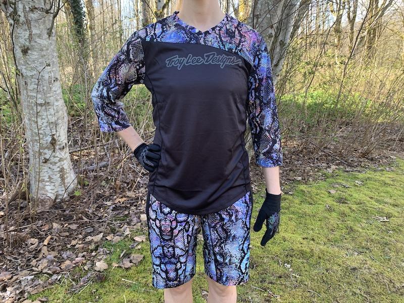 Troy Lee Designs Mischief 3//4-Sleeve Jersey Women/'s