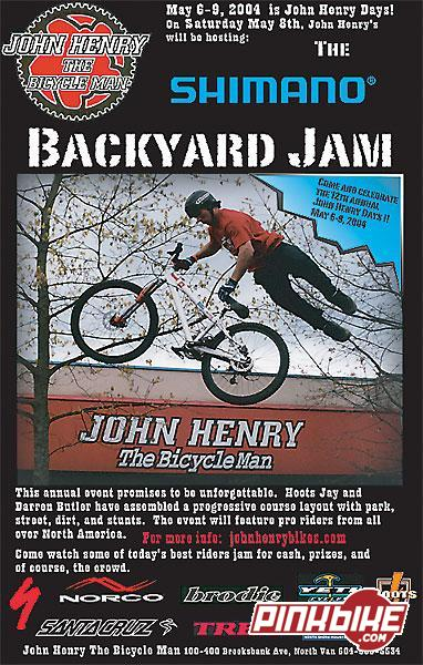 John Henry's 2004 Backyard Jam