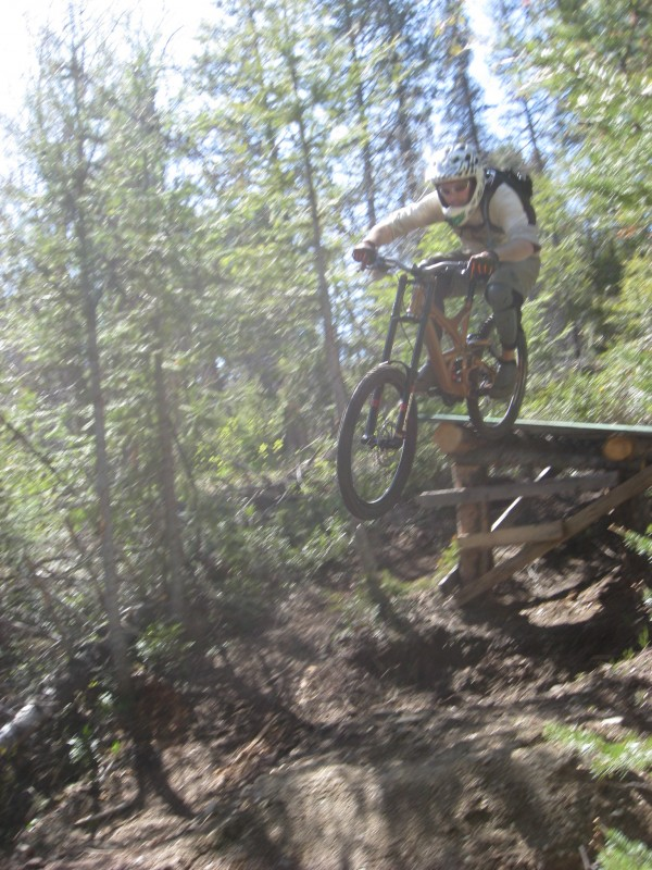 Smoke from bushpilotbiking took radek and the collective crew out for a ride
