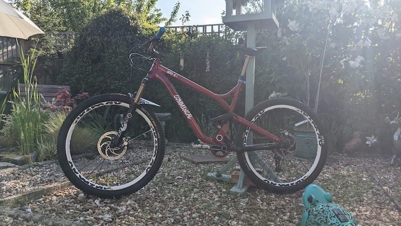 Resprayed and rebuilt and ready for riding