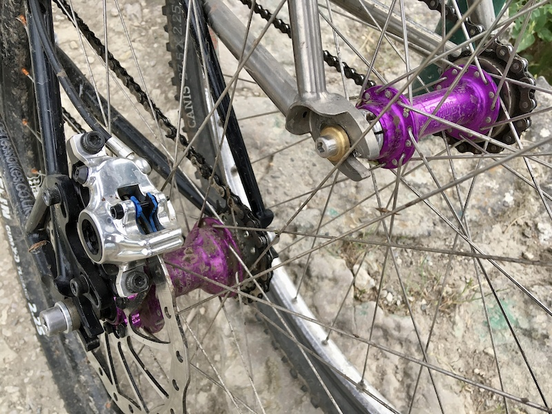 purple singlespeed hub society