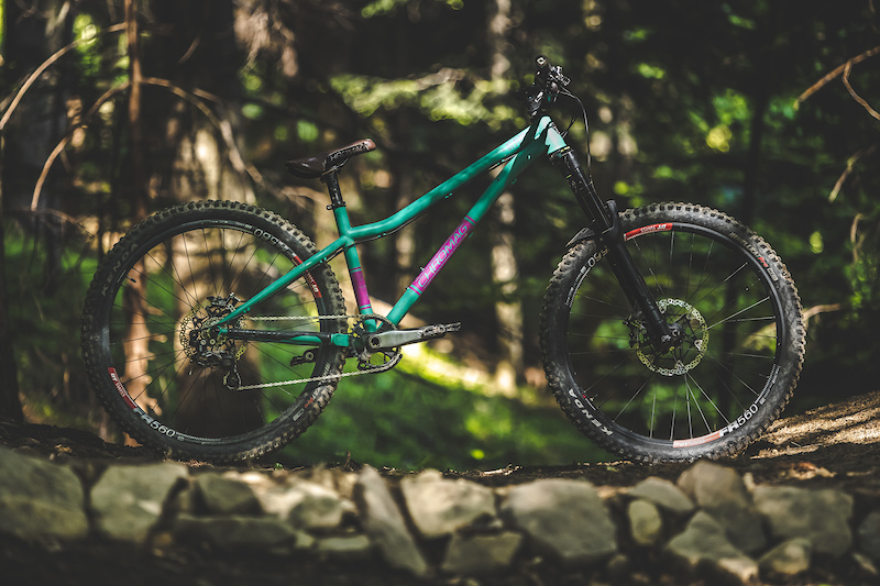 My hardtail for the season 2021 in fr version. Pic by Mateusz Skrzek. 5