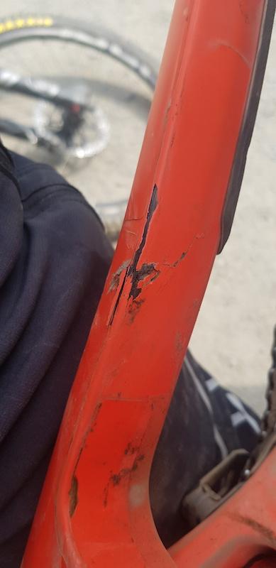 Wreckoning rear triangle damage