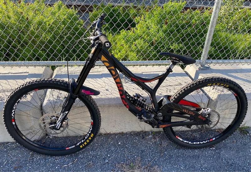 new dh bike