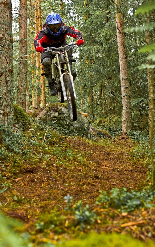 Nice trail in forest. Photo: Sami Kokko.