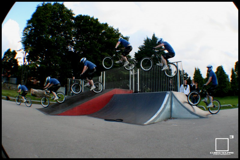 Perry hitting the hip quater to flat bank 1/3 - Cubed Square Photography - Laurence CE