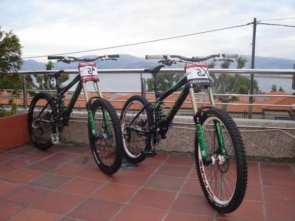 Brendan Flairglought and Sam hill Bike